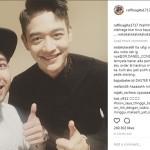 Foto Raffi Ahmad bersama Minho Shinee (Instagram @raffinagita1717)