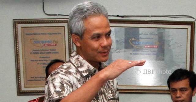Gubernur Jawa Tengah (Jateng) Ganjar Pranowo. (M. Ferri Setiawan/JIBI/Solopos)