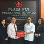 HOTEL DI JOGJA : Sambangi PMI, Manajemen Gallery Prawirotaman Hotel Donorkan Darah