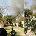 Perumahan di Belakang Lorin Kebakaran