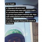 Kisah unik ojek online (Instagram) (1)