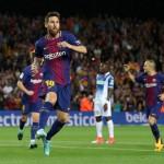 LIGA SPANYOL : 5 Laga, Messi Sudah 9 Gol