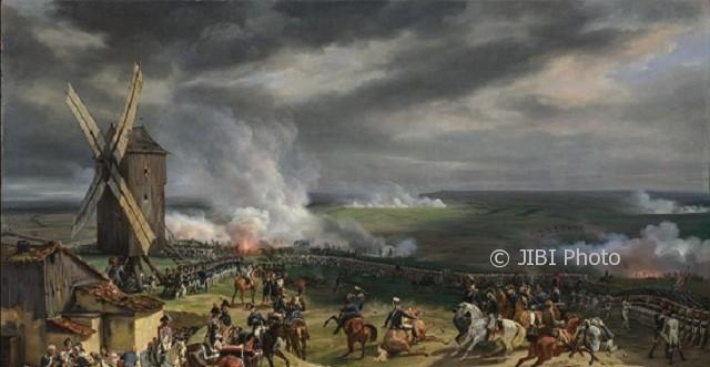 Lukisan yang menggambarkan Pertempuran Valmy, 1792. (Wikimedia.org)