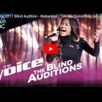 Penyanyi Berdarah Indonesia Lolos Audisi The Voice America 2017