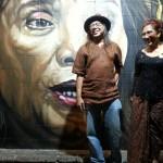 Kejutan! Menteri Susi Saksikan Mural Sus Ayo Sus di Nonongan Solo