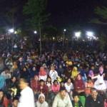 Nonbar Film G30S/PKI di Gemolong Sragen Disaksikan Ribuan Warga