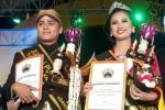 Juara I Putra Lawu 2017, Halintar Cokro Padnobo, dan Elvanya Purba Dita, Juara I Putri Lawu 2017 Kabupaten Karanganyar. (Istimewa - PPL 2017)