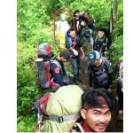 Penampakan di Gunung Slamet (Instagram urban.hikers)