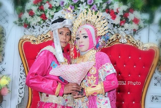 Pernikahan sejenis di bulukumba (Facebook)