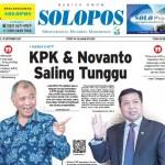 SOLOPOS HARI INI : Kasus E-KTP: KPK & Novanto Saling Tunggu