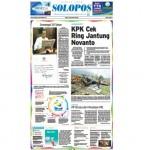 SOLOPOS HARI INI : Kasus E-KTP: KPK Cek Ring Jantung Novanto