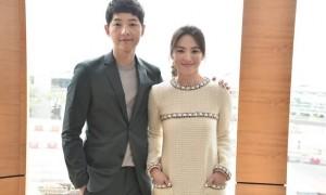 Song Joong Ki dan Song Hye Kyo (Pictagram)