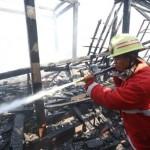 Bukan Perumahan, Sky Lounge di Lantai VI Hotel Lorin Solo Kebakaran