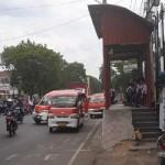 TRANSPORTASI SEMARANG : Duh, Halte BRT di Jl. Majapahit Jadi Pangkalan Angkot