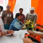 Foto Bantuan Sosial Non Tunai di Salatiga
