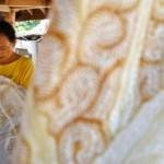 FOTO BATIK SEMARANG : Begini Batik Diproduksi di Ungaran