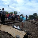 Tabrakkan Diri ke KA Logawa, Pria Timuran Tewas di Rel Pasar Nongko Solo