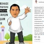 Wali Kota Semarang Berdoa Begini di Tahun Baru Hijriah