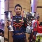 KEJUARAAN GOKART : Juara IRC 2017, Pembalap Muda Solo Ini Siap Naik Kelas