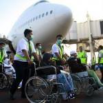 HAJI 2017 : Jemaah Haji Sakit Pulang ke Debarkasi Solo dengan Kloter Terakhir