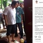 Wali Kota Semarang Hendrar Prihadi pergi ke pasar, mengaku berbelanja bahan makanan demi menyambut Tahun Baru Hijriah. (Instagram-@hendrarprihadi)