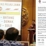 WALI KOTA SEMARANG : Hendi Foto di Indonesia Future City 2017, Warganet Penasaran Tol Semarang-Demak