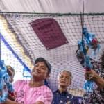 Menteri Kelautan dan Perikanan Susi Pudjiastuti berpidato saat Pembagian Paket Bantuan Alat Penangkap Ikan Ramah Lingkungan di Kota Semarang, Jateng, Rabu (20/9/2017). (JIBI/Solopos/Antara/Aji Styawan)