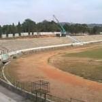 INFRASTRUKTUR SEMARANG : Stadion Jatidiri Direnovasi, Rumput Lapangan Jadi Sorotan
