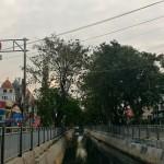 Ilustrasi situasi di sekitar Jembatan 2 Tlogosari, Kota Semarang, Jateng. (Facebook.com-Alvino Dwi Rachman P)