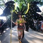 FOTO KAMPUS DI SALATIGA : Begini Mahasiswa Baru UKSW Karnaval