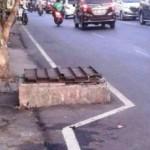 LALU LINTAS SEMARANG : Gara-Gara Ini, Jl Tentara Pelajar Jadi Rawan Kecelakaan