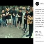 Video Penghormatan Chester Bennington di Semarang Diunggah Linkin Park