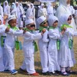 Foto Manasik Haji di Pusat Kota Salatiga