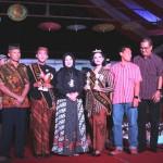 Bagas dan Sundari Raih Gelar Mas dan Mbak Klaten 2017