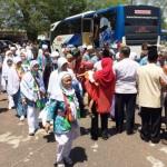 HAJI 2017 : Jemaah Haji Gunungkidul Tiba di Tanah Air, Kesehataan akan Dipantau Sebulan