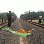 Mayat di Perlintasan KA Diduga adalah Pencuri di Kereta