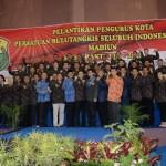 Pengurus PBSI Kota Madiun Periode 2017-2021 Dilantik