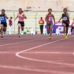 FOTO POPNAS 2017 : Serunya Lomba Lari 100 Meter Putri