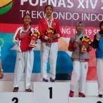 POPNAS 2017 : Tambah 1 di Hari Terakhir, Jateng Kumpulkan 6 Emas dari Taekwondo