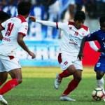 Laga PSIS Semarang melawan Persis Solo di Stadion Jatidiri, Kota Semarang, Jateng, Senin (21/8/2017). (Instagram-@psisfcofficial)