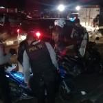 RAZIA KLATEN : Polres Gabungan Gelar Operasi Kendaraan di Penggung, Ini Hasilnya