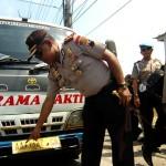 KRISIS ROHINGYA : Kendaraan Tujuan Magelang Disekat Polisi