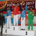 POPNAS 2017 : Taekwondoin Sukoharjo Raihkan Emas untuk Jateng