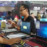 Pamerkan Komputer dalam Kondisi Hidup, Yogya Komtek Ramai Pengunjung