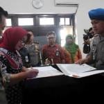 Rekrut Polisi dari Jalur Khusus, Bupati-Kapolres Sragen Teken MoU