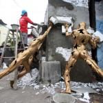 Patung JSSP akan Dipasang 3 Bulan, Penonton Jangan Usil, Ya!