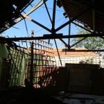 Lapuk, Atap Aula Balai Desa Trobayan Sragen Ambrol
