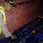 MIRAS WONOGIRI : Polisi Gagalkan Pengiriman Ribuan Liter Ciu ke Blitar