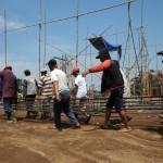 Pasar Hewan Jelok Boyolali Dihias Relief Dua Dimensi Sapi Ndhekem