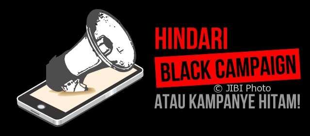 Jangan coba-coba kampanye hitam atau black campaign. (Whisnu Paksa/Imam Yuda S./JIBI/Semarangpos.com)